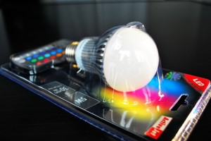 RGB LED bulbs